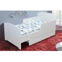 detská posteľ KEVIN, s úložným priestorom a matracom 9x80x170 cm